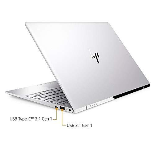 HP Envy 13T 13.3in IPS EDGE-to-EDGE TouchScreen 4K UHD (3840x2160) Business Laptop (Intel Quad-Core i7-8550U, 512GB PCIe NVMe M.2 SSD, 16GB RAM, NVIDIA MX150, Type-C, Windows 10 (Renewed)