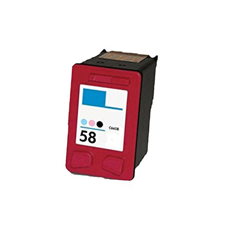 Compatible HP C6658 (HP 58) Photo Ink Cartridge -Pack of 1 -Deskjet 450cbi, 450ci, 450, 5150, 5550, 5550v Brand (Cartridges 5550)