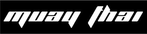 Muay Thai Car/Window Sticker 1.5