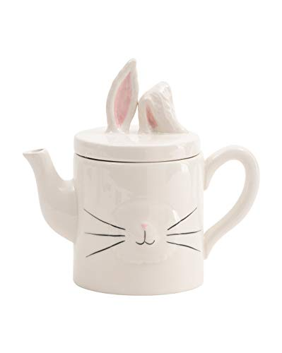 Rae Dunn By Magenta Easter Bunny Tea Pot