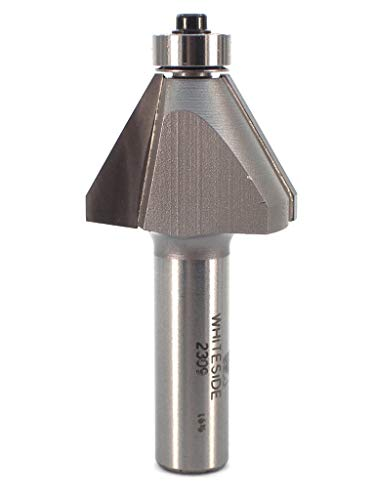 - Whiteside Router Bits 2309 Edge Bevel Bit with 30-Degree 7/8-Inch Cutting Length