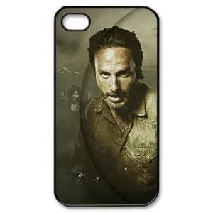 linJUN FENGFantasyhome (TM) The Walking Dead Daryl Dixon iphone 4/4s Hard Case + Free Wristband Accessory