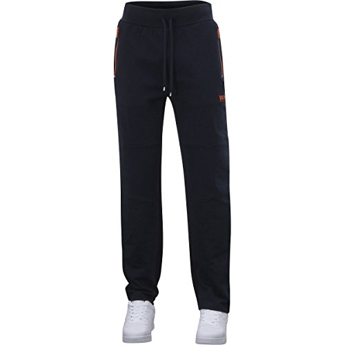 Hugo Boss Men's Long Pant Dark Blue Drawstring Tracksuit Sweat Pants Sz: - Boss Pants Long Hugo