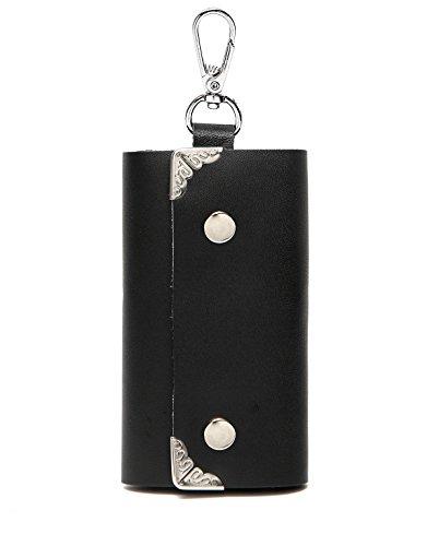 Vaschy Genuine Leather Key case,Key holder wallet,Key pouch,Keychain