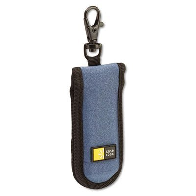 USB Drive Shuttle, Holds 2 USB Drives, Blue, Sold as 1 Each (Case Clip Shuttle)