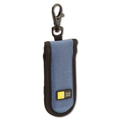 USB Drive Shuttle, Holds 2 USB Drives, Blue, Sold as 1 Each (Clip Shuttle Case)