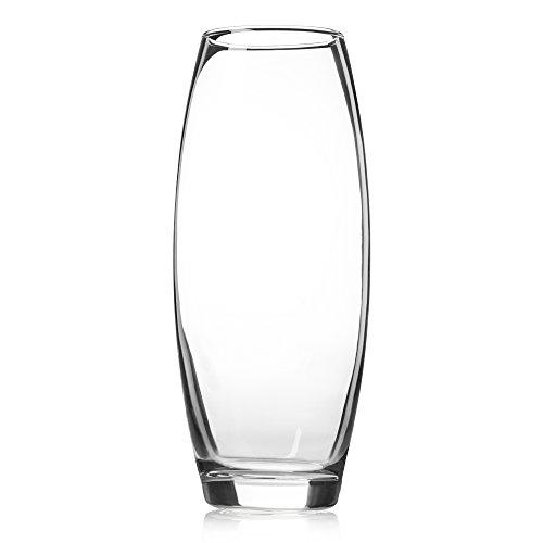 Zanzer Clear Tall Glass Vase Buy Online In Samoa At Desertcart