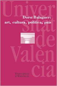 Book Doro Balaguer: art, cultura, política, país
