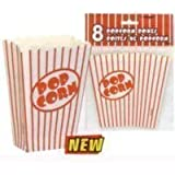Lot de 40 contenants à pop-corn
