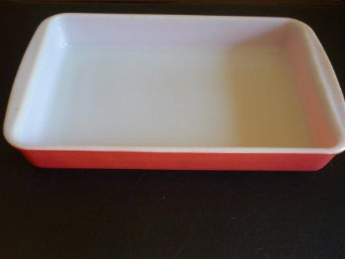 Vintage Pyrex Pink Flamingo Casserole Rectangular Baking Dish