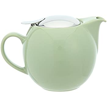 Bee House 26oz Round Ceramic Teapot (Artichoke)