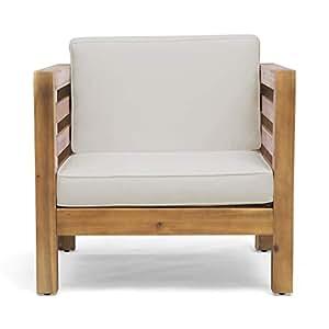 Amazon.com: Great Deal Furniture Louise - Silla de madera de ...