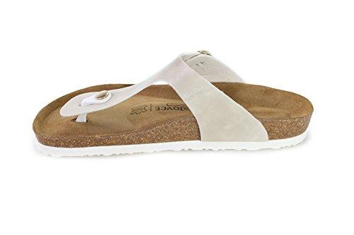 Sandals Softbedded Footbed Slippers Soft JOYCE SynSoft Rio Beige Metallic N JOE Women wqOFP8Z8
