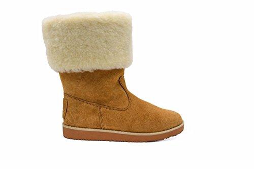 Aussie Merino Women's Chloe Boots 4 Chestnut ()