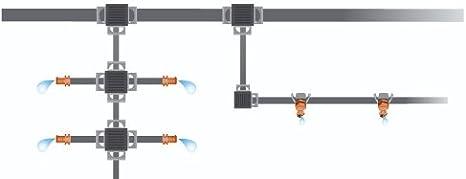 3//16 Zoll Der Kunststoff Gardena Micro-Drip-System Verbinder 4.6 mm
