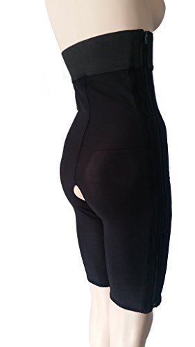 High Waist Liposuction Compression Garment, Above the Knee, Post Surgery Girdle, Plastic Surgery (39