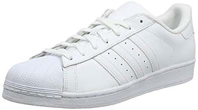 adidas Australia Superstar Foundation Men's Sneakers, Footwear White/Footwear White/Footwear White, 5.5 US