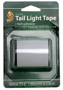 Duck Tail Light Tape Clear