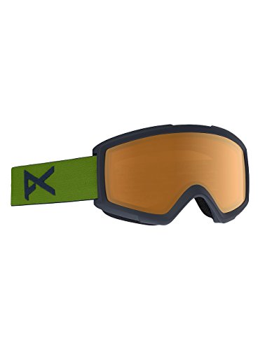 Anon Helix 2.0 Goggle, Forest Green/Amber Lens - Anon Helix Goggles