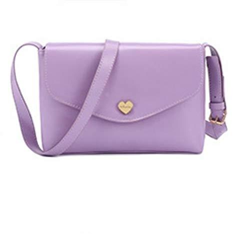 Coeur Sac D'épaule La Bandoulière Mode Femme En Forme À De Avec violet Pour t884xr