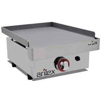 Plancha a gas ARILEX en acero laminado de 6 mm con medidas ...