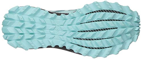 Saucony Women's Peregrine ISO Trail Running Shoe, Aqua/Grey, 6.5 M US by Saucony (Image #3)