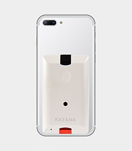 (Katana Safety Arc: The Personal Security System That Attaches Directly to Your Smartphone. Includes 1 Free Month of the 24/7 Katana Response Center Service. (Pearl White))