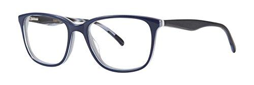 VERA WANG Eyeglasses V354 Navy 53MM