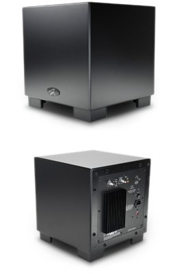 MartinLogan Dynamo 1000W 12-inch Wireless Ready Subwoofer Single, Black