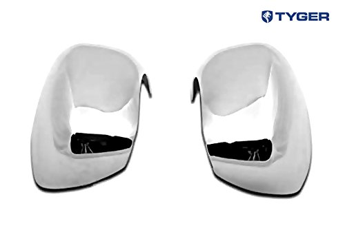 Tyger ABS Triple Chrome Plated A Pair Mirror Covers Fits 06-08 Dodge Magnum/06-10 Charger/05-10 Chrysler 300/300C