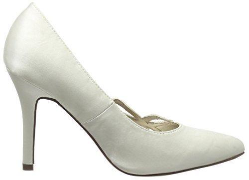 ivoire F9736 Femme On Blanc Spot Escarpins Cassé TqH80Y