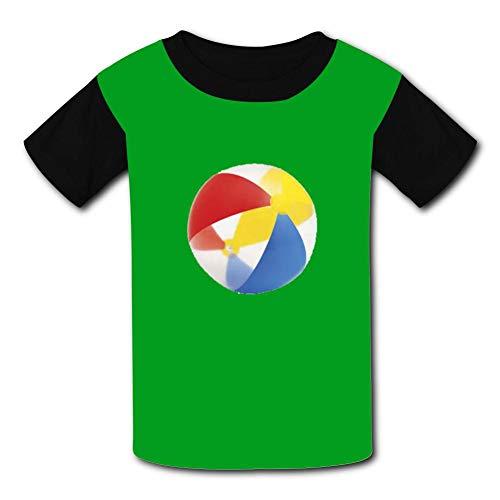 79ebb68f3ab linsz999 Football 3D Printed Funny Printed Children s Short Sleeve Tee T- Shirts M