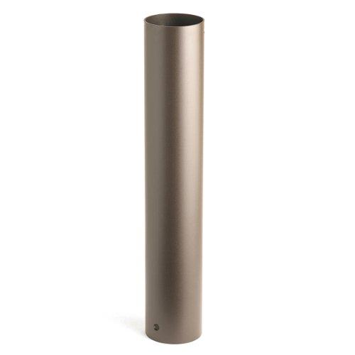 - Kichler  15613AZT 6-Inch x 18-Inch Aluminum HID Bollard Mounting Stem, Textured architectural bronze