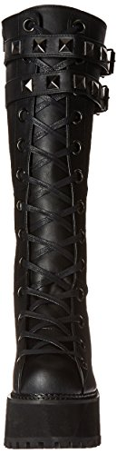 Vegan Bvl Asst202 Black Boot Women's Pleaser Leather nqC5EXA