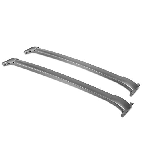 For Nissan Pathfinder R52 Pair of Aluminum OE Style Roof Rack Top Crossbars (Silver Coated)