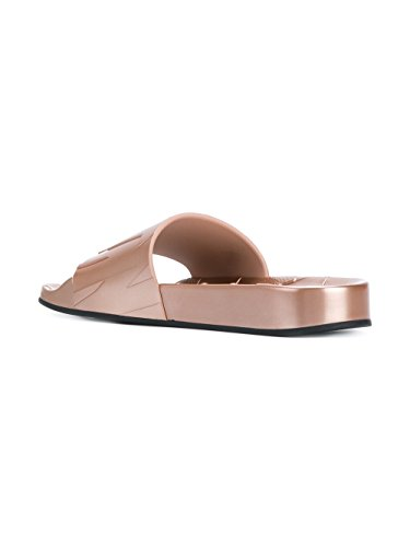 Jimmy Choo Women's REYFMRU03 Pink Rubber Sandals cheap sale finishline sale outlet store Lsr2pX