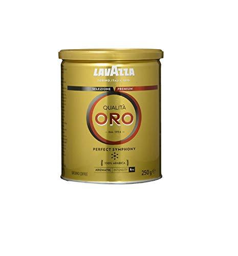 Café Torrado e Moído Qualitá Oro Lavazza Lata 250g