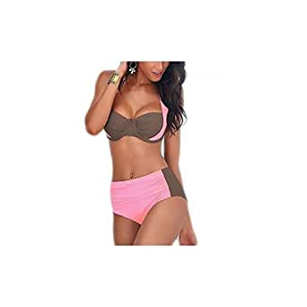 Pink Bikini Set For Women