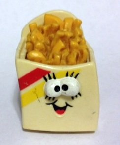 Burger King Spry Fries on Wheels 1989 Merry Miniature by Hallmark