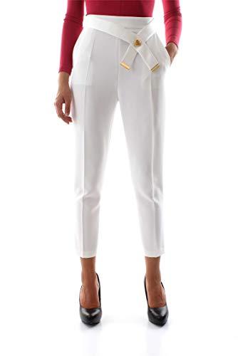 Franchi Elisabetta Pa18386e2 Pantalón Marfil Mujer OqPqad