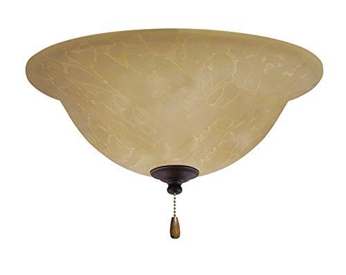 (Emerson Ceiling Fans LK71LEDGES Amber Parchment L.E.D. Light Fixture for Ceiling Fans, LED Array, Golden)
