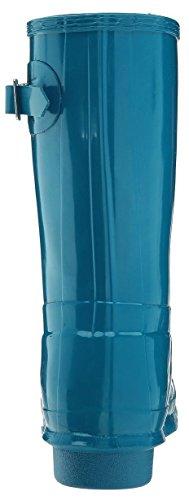 Hunter Low Wellington Boots, Botas de Agua Para Mujer Azul (Blue/rob)