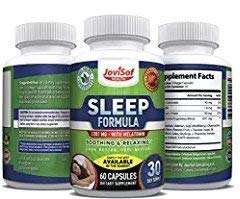 Black Friday Sale Natural Sleep Aid Pills | Best Sleeping Supplements with Melatonin, Magnesium, 5HTP, Ashwagandha, Chamomile and Natural Anxiety Calm Valerian Root | Best Quality Sleep!
