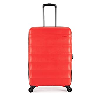 Image of Antler Juno 4w Medium Case, Red Luggage