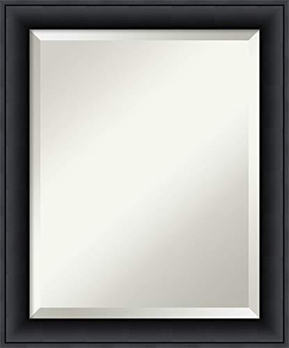 Framed Vanity Mirror | Bathroom Mirrors for Wall | Nero Black Mirror -
