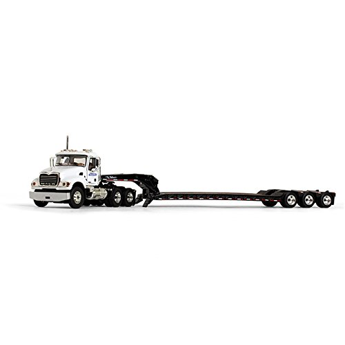 First Gear 1/64 Scale Diecast Collectible Komatsu Mack Granite with Tri-Axle Lowboy Trailer (60-0383)