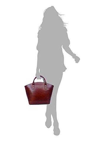 Oscuro L Asas Para Mujer Superflybags De Talla Marrón Bolso Y8Pqwxp1Z