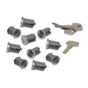 Yakima SKS Lock Cores for Yakima Rooftop Car Racks (10-Pack)