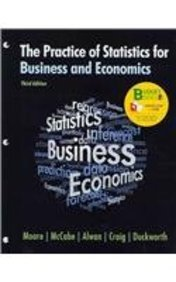 Loose-leaf Version for Practice of Statistics for Business and Economics