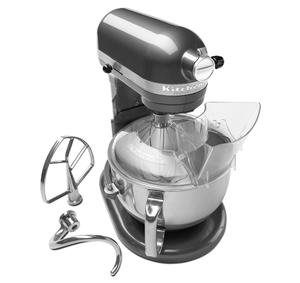 KitchenAid KP26M1XQPM Pearl Metallic Professional 600 6 Quart Bowl-Lift Stand Mixer with Pouring